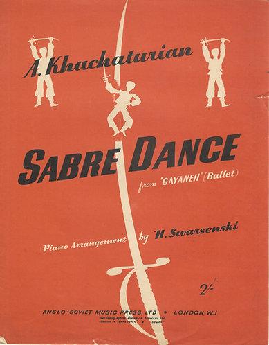 A. Khachaturian   Sabre Dance   Piano