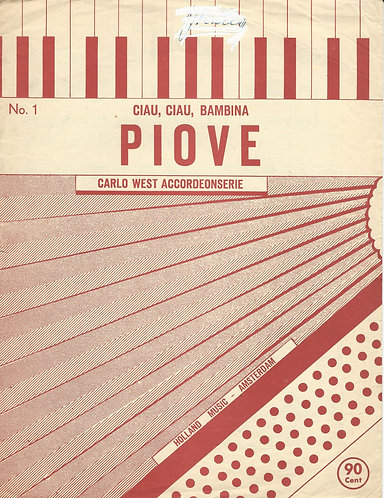 D. Modugno | Piove | Accordion