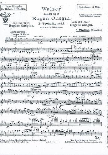 P. Tschaikowski | Eugen Onegin | Orchestra