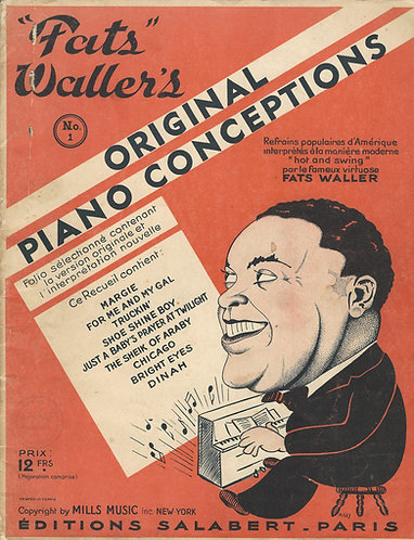 Fats Waller   Fats Waller's Original Piano Conceptions   Piano   Jazz