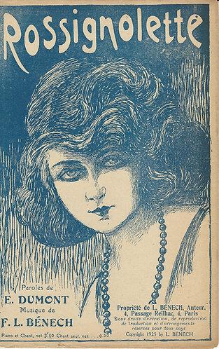 F.L. Benech | E. Dumont | Rossignolette | Vocals