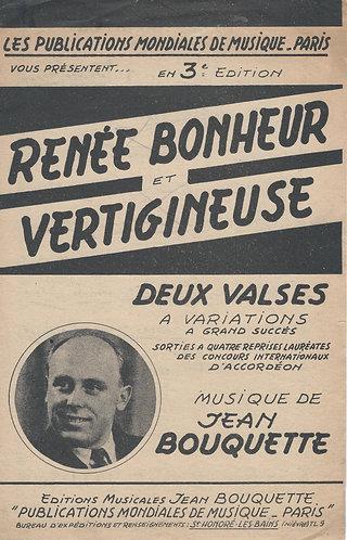 Jean Bouquette    Renee Bonheur   Accordeon