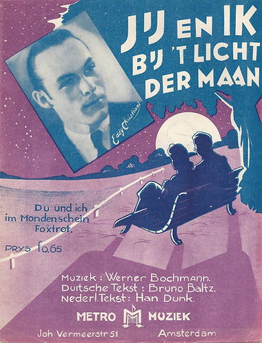 Eddy Christiani | Werner Bochmann | Du und ich im Mondenschein | Piano | Vocals