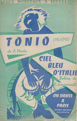 R. Emmerecht   Dany Dal   Ciel Bleu d'Italie   Accordion   Vocals