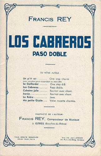 Francis Rey | Los Cabreros | Orchestra
