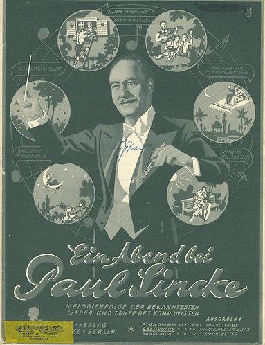 Paul Lincke | Ein Abend bei Paul Lincke | Piano