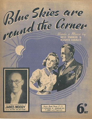 Ross Parker | Hughie Charles | Blue Skies are round the Corner | Piano | Vocals