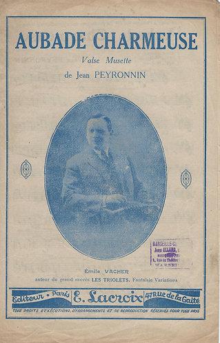 Emile Vacher | Jean Peyronnin | Aubade Charmeuse | Accordion | Violin