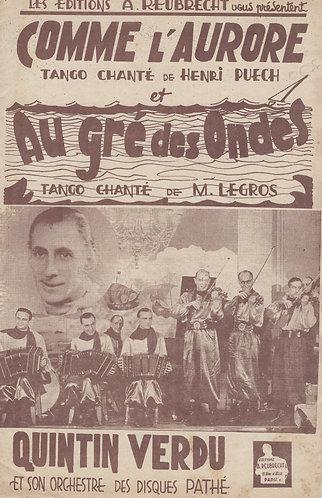 M. Legros | M. Gersol | Au Gre Des Ondes | Orchestra