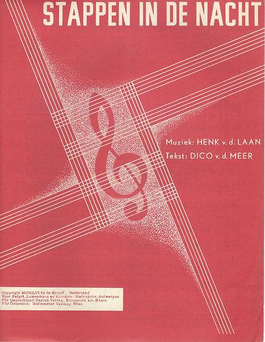 Henk van der Laan   Stappen in de nacht   Piano   Vocals