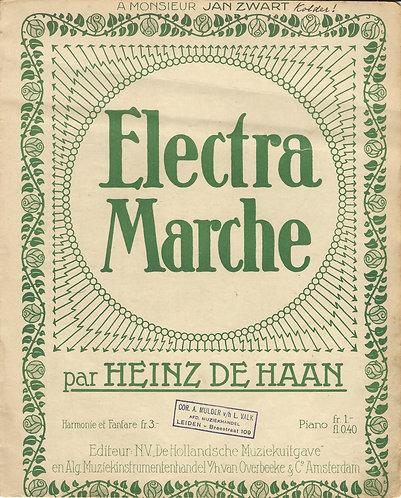 Heinz de Haan   Electra Marche   Piano