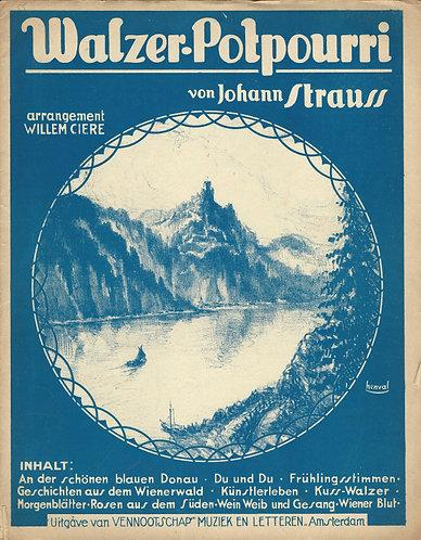 Johann Strauss | Walzer-Potpourri  | Piano