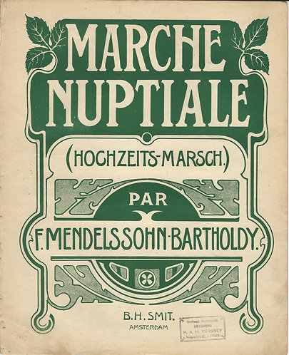 F. Mendelssohn-Bartholdy | Hochzeits Marsch | Piano
