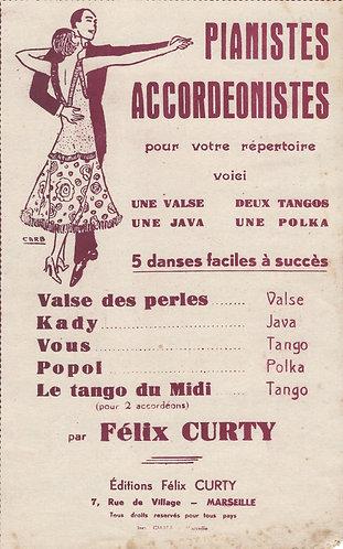 Felix Curty   Popol   Accordion