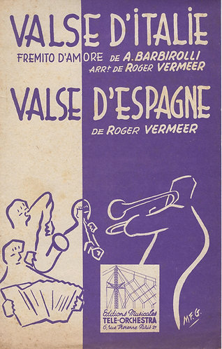 Roger Vermeer   Valse d'Espagne   Combo