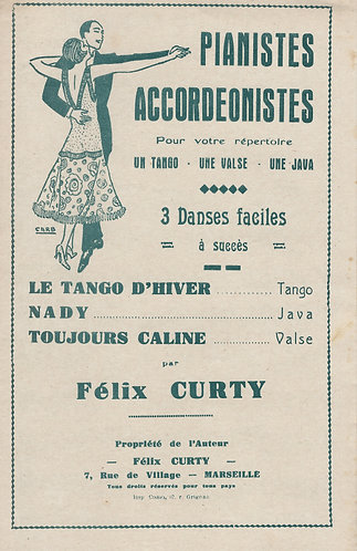 Felix Curty | Toujours Caline | Accordion | Violin