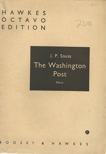 J.P. Sousa   Washington Post   Orchestra