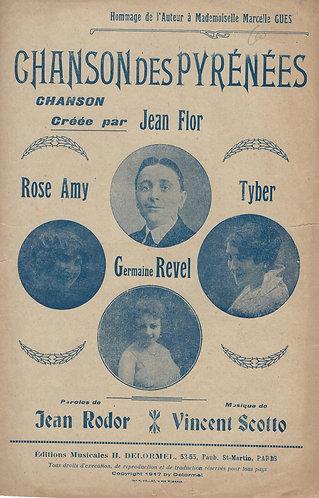 Vincent Scotto | Jean Flor | Jean Rodot | Chanson des Pyrenees