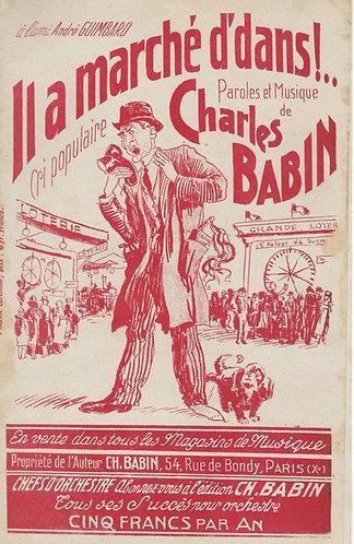 Charles Babin | Il a marche d'dans | Piano | Vocals