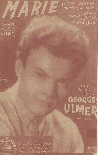 Georges Ulmer | Jo Bouillon | Marie | Chanson