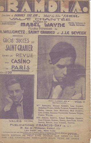 Valies | Lymann Waggner | Saint Granier | Mary Lou | Chanson