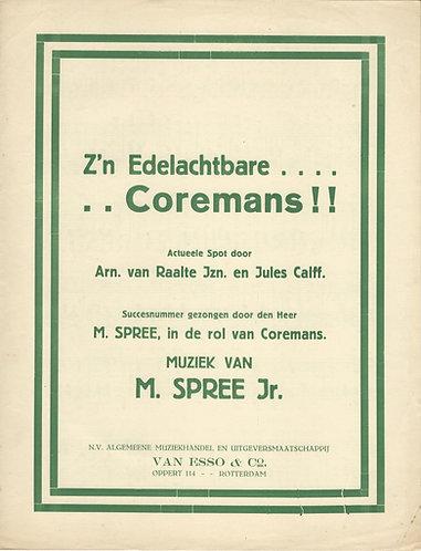 M. Spree Jr. | Z'n Edelachtbare Coremans | Piano | Vocal