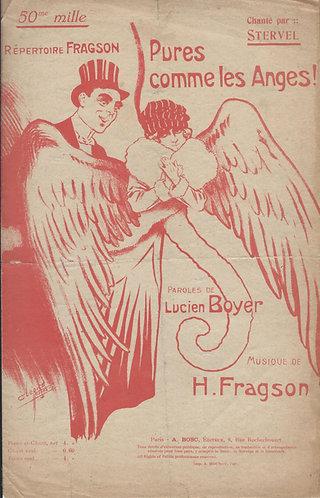 Henri Fragson | Lucien Boyer | Pures comme les Anges | Chanson