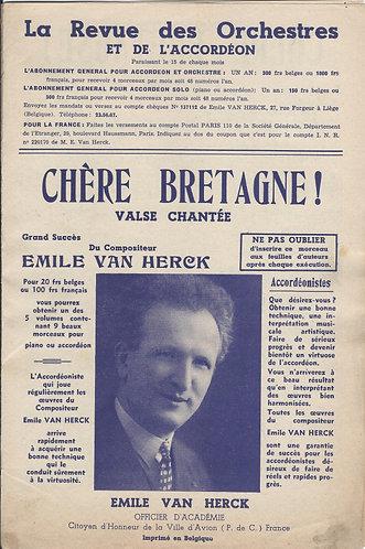 Emile van Herck | Chere Bretagne | Accordion | Piano | Vocals