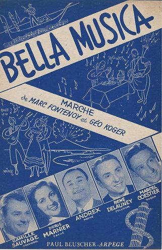 Andrex | Marc Fontenoy | Bella Musica | Chanson