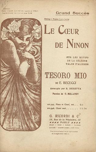 E. Becucci | Le Coeur de Ninon | Vocals