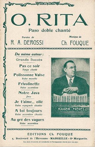 Ch. Fouque | O.Rita | Orchestra