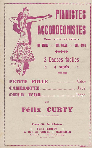 Felix Curty | Camelote | Accordion