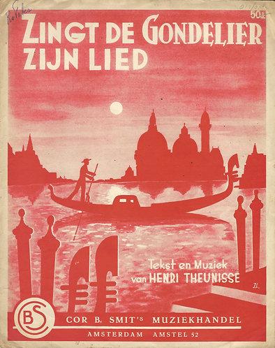Henri Theunisse | Zingt de Gondelier zijn Lied | Piano | Vocals