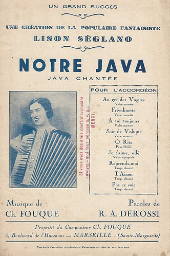 Ch. Fouque | Notre Java | Piano