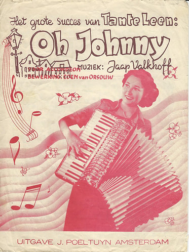 Jaap Valkhoff | Tante Leen | Oh Johnny | Accordion
