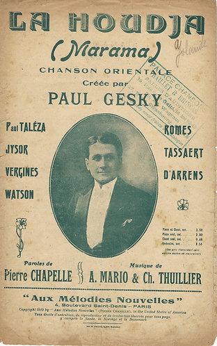 Alcib Mario | Ch. Thuillier | Paul Gesky | La Houdja | Vocals