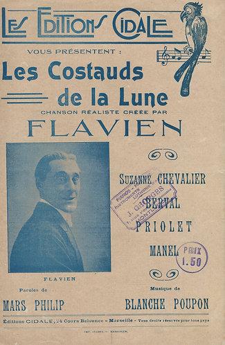 Blanche Poupon | Flavien | Les Costauds de la Lune | Chanson