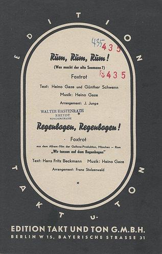 Heino Gaze | J. Junge | Rum Rum Rum | Piano