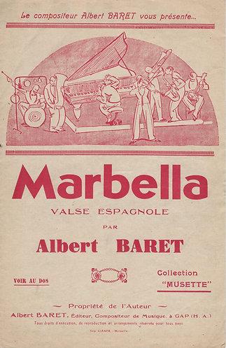 Albert Baret | Marbella | Piano