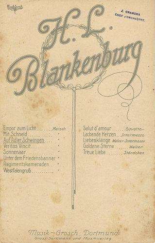 H.L. Blankenburg | Auf Adler Schwingen | Piano