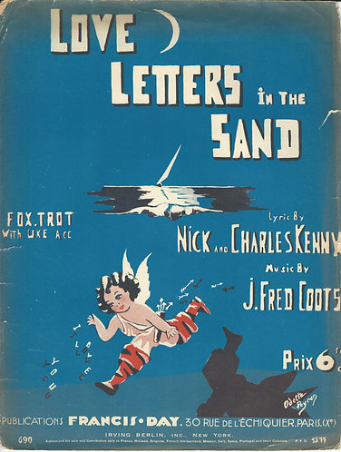 J. Fred Coots | Love letters in the Sand | Piano | Vocals