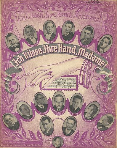 Ralph Erwin | Ich kusse Ihre Hand Madame | I Kiss your little hand madame