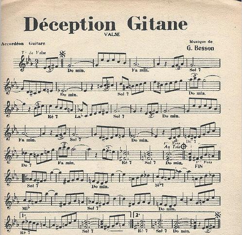 G. Besson | Emile Prud'homme | Deception Gitane | Piano