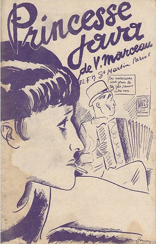 V. Marceau | Princesse Java | Piano