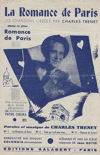 Charles Trenet | La Romance de Paris | Chanson