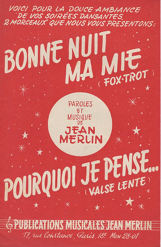 Jean Merlin | Oscar Musette | Accordeon | Violin