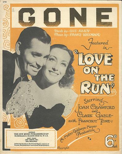 Franz Waxman   Clark Gable   Joan Crawford   Gone   Piano   Vocals