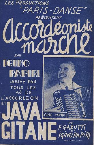 Igino Papiri | F. Gabutti | Accordeoniste Marche | Small Orchestra | Combo