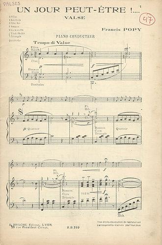 Francis Popy | Un jour peut etre | Orchestra
