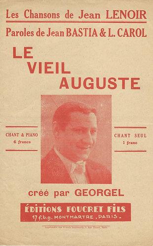 Jean Lenoir   Georgel   Le Vieil Auguste   Chanson